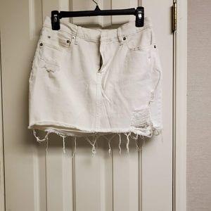 Gap mini denim skirt